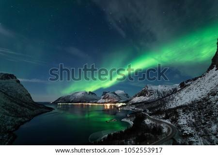 Northern Lights in Senja #1052553917