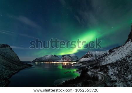 Northern Lights in Senja #1052553920