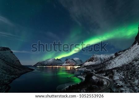 Northern Lights in Senja #1052553926