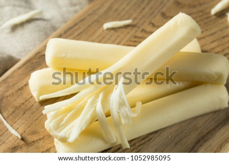 Healthy Organic String Cheese For a Snack #1052985095