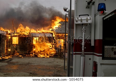 house on fire #1054075