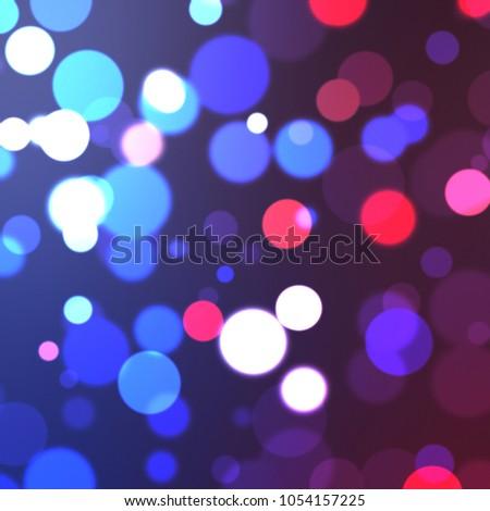 Lights background. Abstract Bokeh wallpaper #1054157225