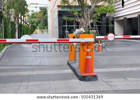 Vehicle Security Barriers #105431369