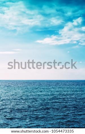 Sea nature landscape. Seascape background #1054473335