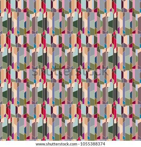 Abstract color seamless pattern for new background. #1055388374