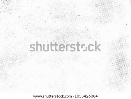 Subtle halftone vector texture overlay. Monochrome abstract splattered background. #1055426084