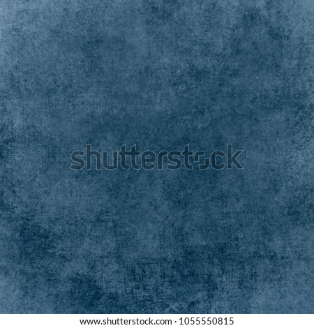 Vintage paper texture. Blue grunge abstract background #1055550815