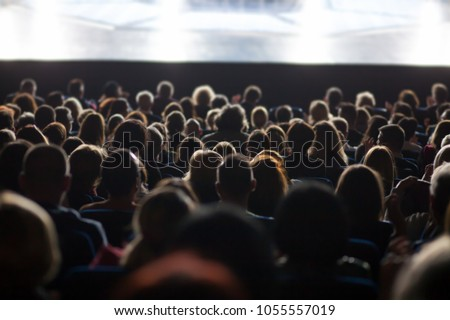 audience at the theater #1055557019