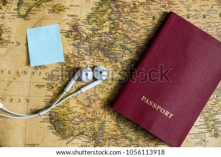 country map selection brainstorming concept migration journey place for text #1056113918