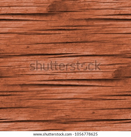 Orange seamless wood texture. #1056778625