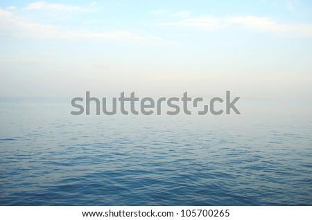 calm on the sea #105700265