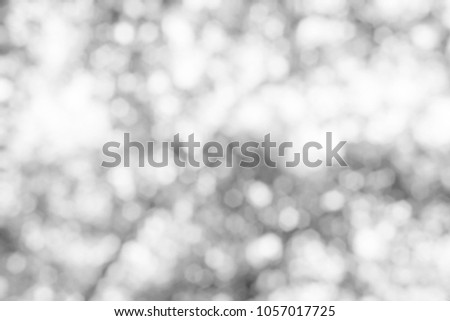 Abstract White Bokeh Background. #1057017725