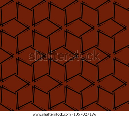 Ornamental seamless pattern. Vector abstract background. #1057027196