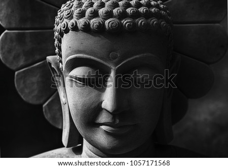 Head of the Buddha History of Buddhism Carved from sandstone.