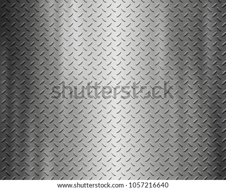 Metal texture steel background with aluminum plate surface #1057216640
