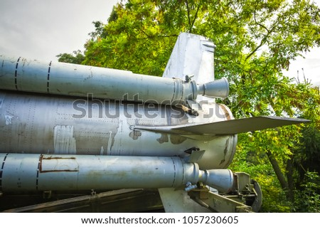 anti-aircraft missile military #1057230605