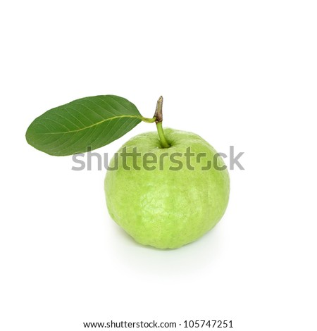 Thai guava fruit, isolated on a white background #105747251