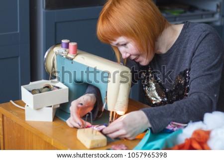 Making of handmade toys #1057965398