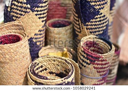 Bamboo matree, handicraft products #1058029241