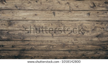 Wood texture background surface with old natural pattern. Grunge surface rustic wooden table top view #1058142800