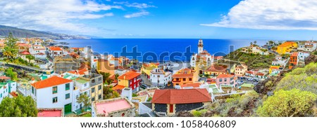 Candelaria, Tenerife, Canary Islands, Spain: Overview of the Basilica of Our Lady of Candelaria, Tenerife landmark #1058406809