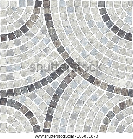 marble-stone mosaic texture. (High.res.) #105851873