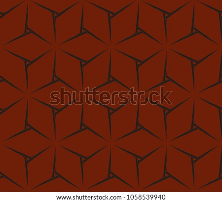 Stylish geometric background. Abstract seamless pattern. Vector illustration. #1058539940