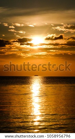 Corfu, Greece, Sunrise #1058956796