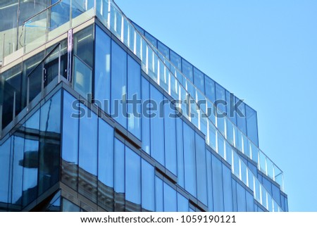 Exterior of a modern office building #1059190121