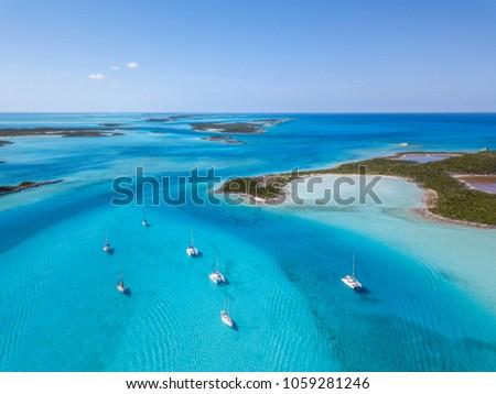 Located in The Exumas, Bahamas #1059281246