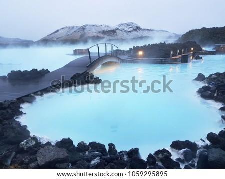 blue lagoon Iceland #1059295895