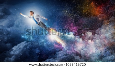 With all his power and energy Royalty-Free Stock Photo #1059416720