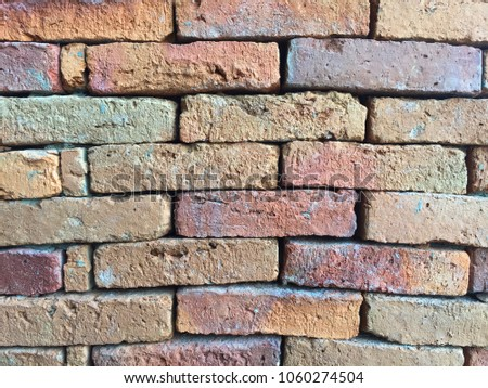 red brick wall texture #1060274504