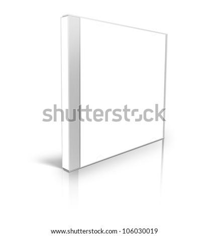 White blank cd case #106030019