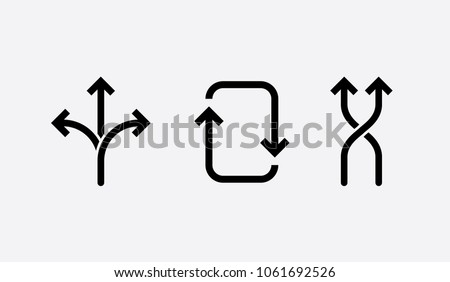 flexibility icons. concept vector illustration, black and white symbol.
