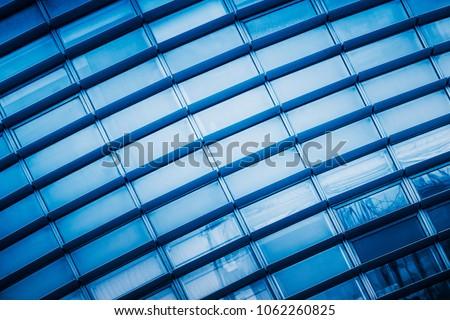blue tone building background, china. #1062260825