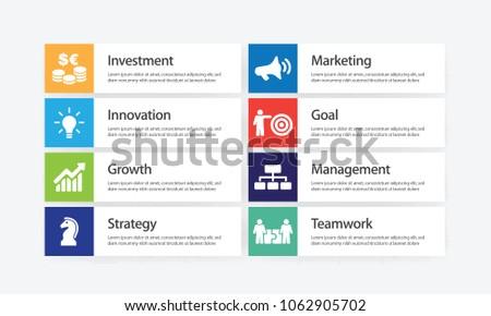 Revenue Infographic Icon Set