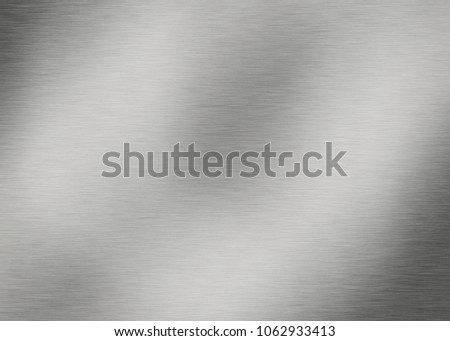 Stainless texture metal plate background #1062933413