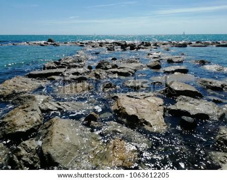 Sea view, Italy #1063612205