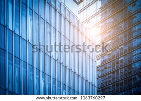 windows of business building #1063760297