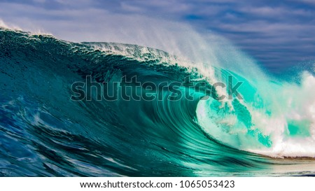 Amazing, perfect wave #1065053423