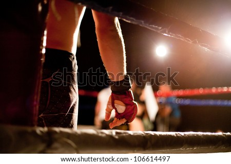 boxing match Royalty-Free Stock Photo #106614497