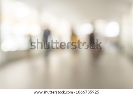 Background image blurred inside the mall for the background. #1066735925