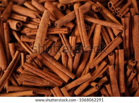 Cinnamon sticks in a bazaar #1068062291