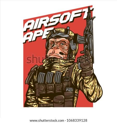 Airsoft Gun Ape