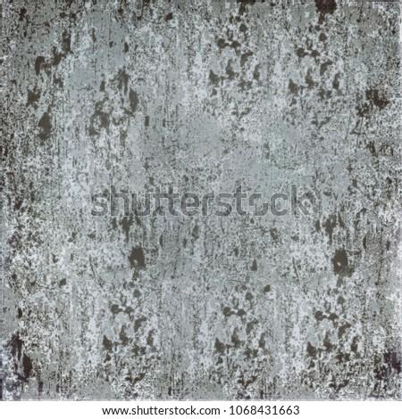 Grey grunge background. Texture of old vintage surface #1068431663