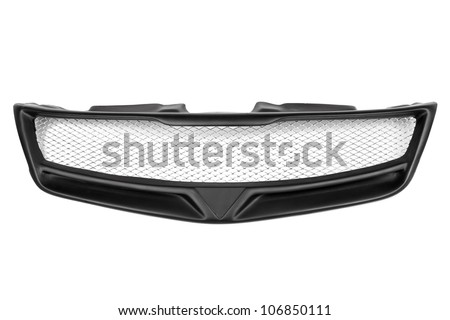 grill car on a white background #106850111