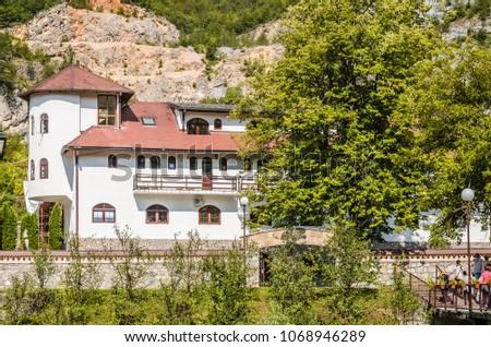 Orthodox monastery Dobrun near Visegrad in Bosnia and Herzegovina  #1068946289
