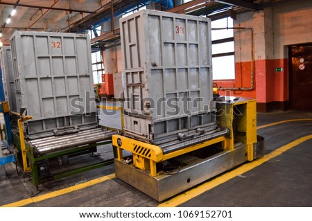 Presses, equipment for packing synthetic fibers in the production shop of petrochemical, oil refinery #1069152701