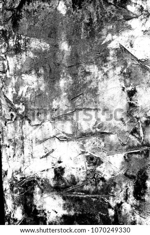 Abstract background. Monochrome texture. Image includes a effect the black and white tones. #1070249330